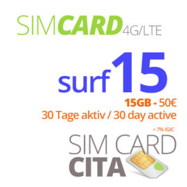 Surf15 mit 15GB – 30 Tage