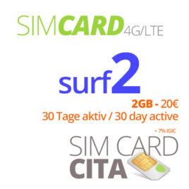 Surf2 mit 2GB – 30 Tage