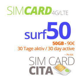 Surf50 mit 50GB – 30 Tage